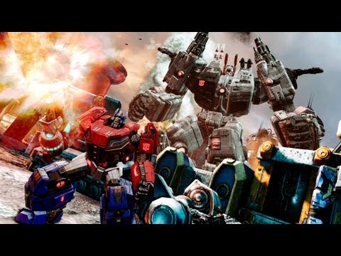 Through the Matrix: Official Transformers Fall of Cybertron Video (Ships August 21st)