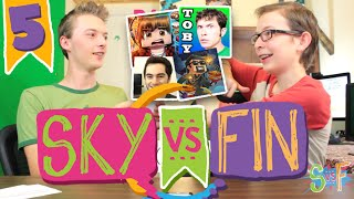 SKY vs FIN | EP 5 | Youtuber Impersonation Challenge!
