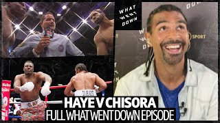David Haye v Dereck Chisora full What Went Down episode | One of boxing's greatest grudge matches!