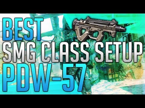 Black Ops 2: BEST SMG CLASS SETUP! - PDW (87-1)