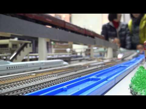 2012年12月1日 大分駅での鉄道模型運転会 後編