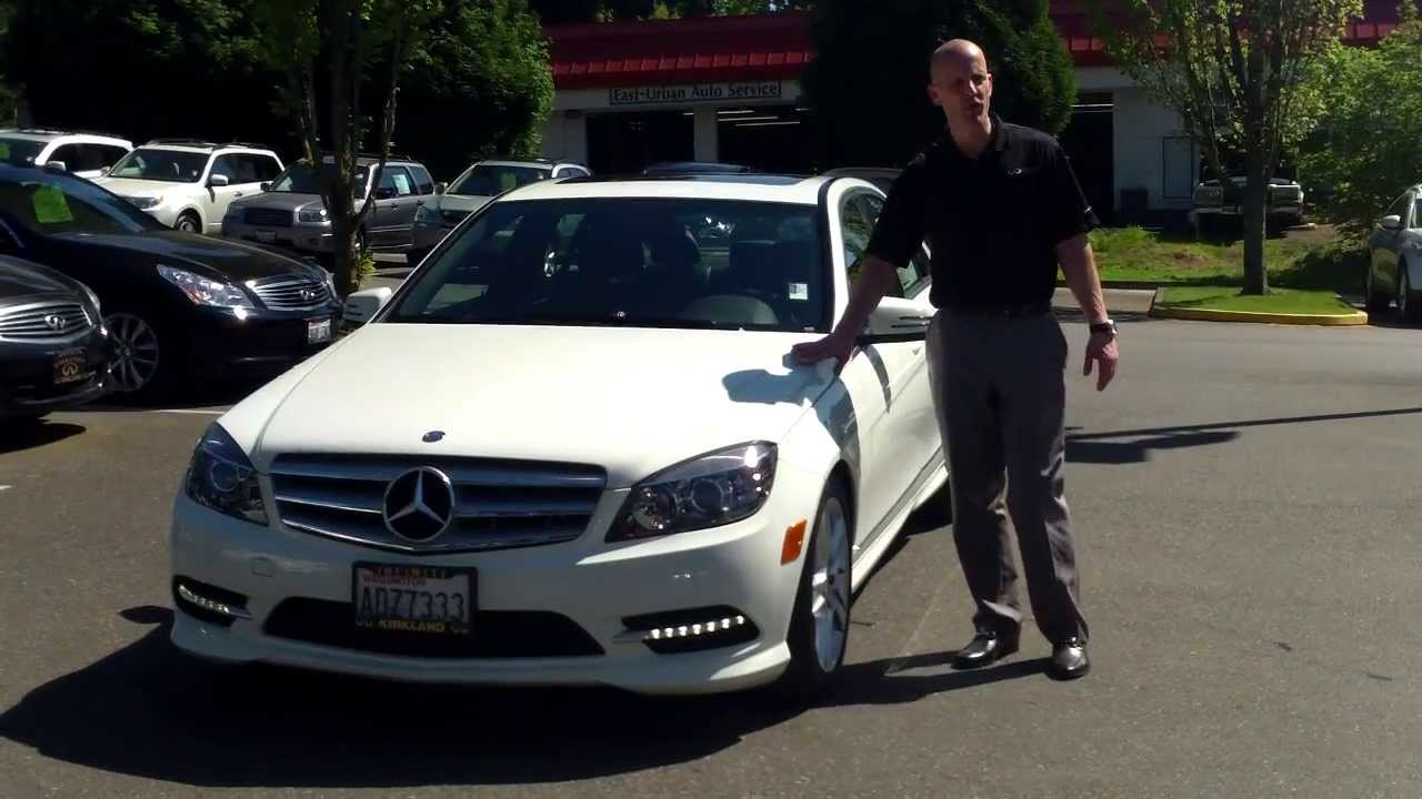 2011 Mercedes C300 4Matic Review In 3 Minutes Youll Be