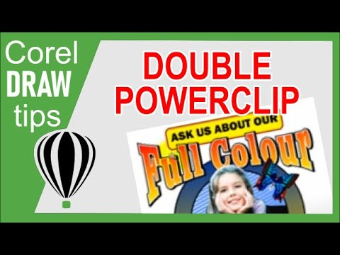 Double Powerclip in CorelDraw X3