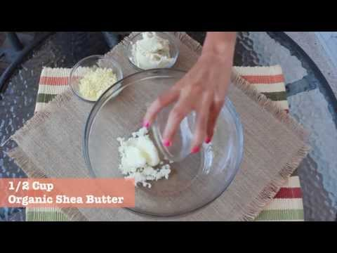 DIY Whipped Body Butter - using all natural ingredients