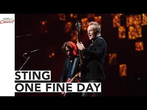 STING - One Fine Day - The 2016 Nobel Peace Prize...