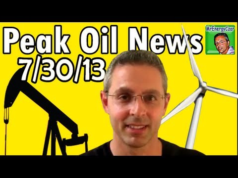 Peak Oil News 7/30/13 Hyperloop, Solar Airplane, Tesla.....