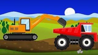 Máy xúc đồ chơi,Phim hoạt hình đồ chơi lắp ghép máy cẩu,đồ chơi ô tô,máy xúc trẻ em by Tom Kids TV