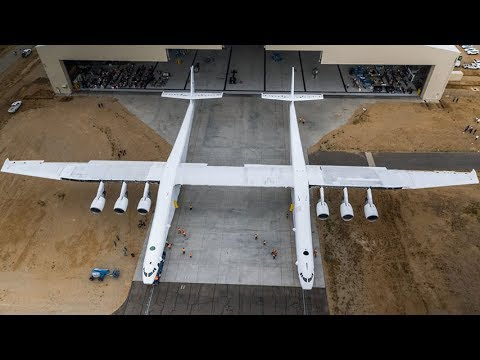 Stratolaunch Aircraft First Rollout (World's Largest Plane By Wingspan)