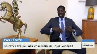 Montréal: Entrevue avec Mr Talla Sylla maire de la ville de Thiès