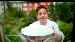 Markus Granseth: att äta popcorn i en orkan har alltid varit en dröm.
