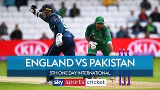 Woakes takes 5 wickets! | England vs Pakistan | 5th ODI | Highlights