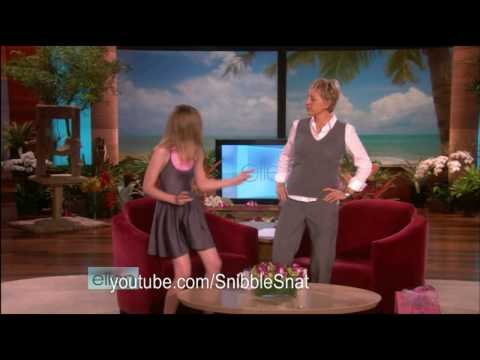 (HD) Elle Fanning on Ellen for