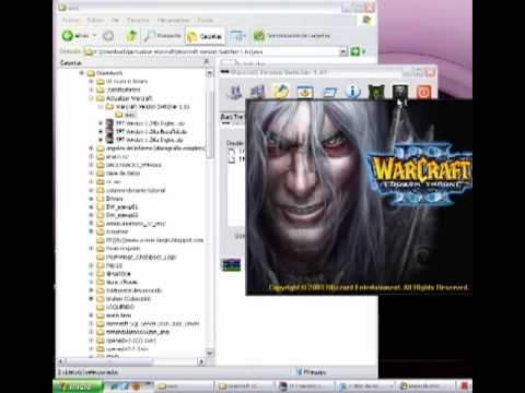 Загружено 3 мая 2011. Links de descarga --- Warcraft Version Switcher 1.61