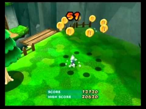 Super Mario Galaxy 2 - Fluffy Bluff Galaxy - The Chimp's Stomp Challenge 2:21.01
