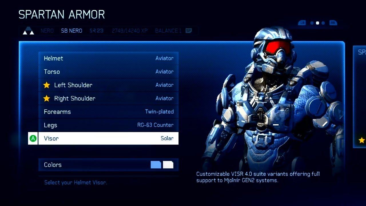 Custom Loadouts Halo 4 Halo 4 Customization Spartan