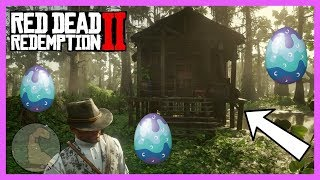 This Abandon Creepy Haunted House Has ALL Of The EASTER EGGS!!! [Red Dead Redemption 2]