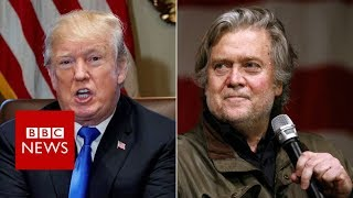 Michael Wolff's Book: Trump lawyers threaten ex-aide Bannon - BBC News