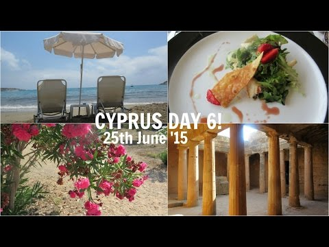 CYPRUS DAY 6: Coral Bay & Tombs of the Kings! // Velvet Hearts ♡