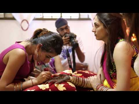 A Singapore Punjabi Wedding Highlights of Kevin & Shohiniy