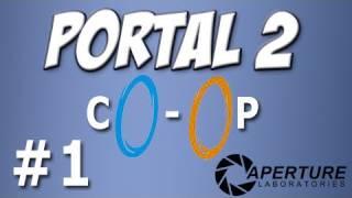 Yogscast - Portal 2: Co-op 1 - Team Building 1-2