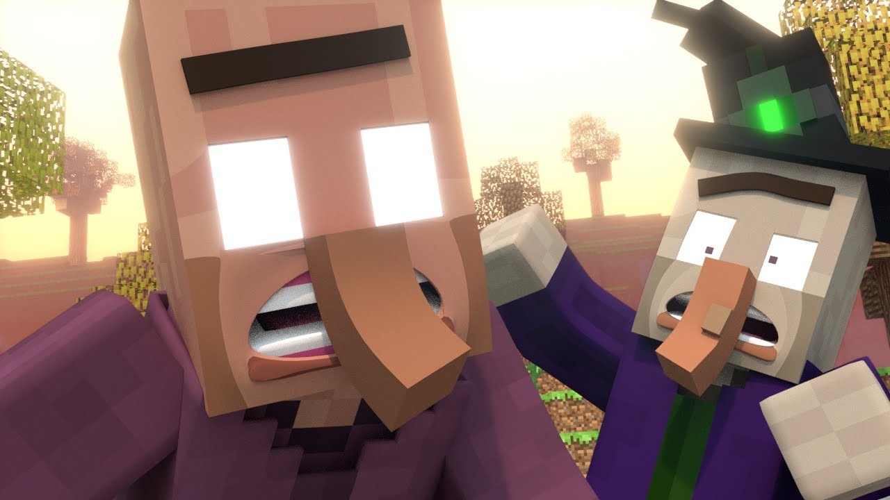 Annoying Villagers 21 - Minecraft Animation