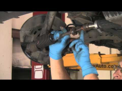 Part 1  Installing tie rods on a BMW with rack & pinion. E30. etc.