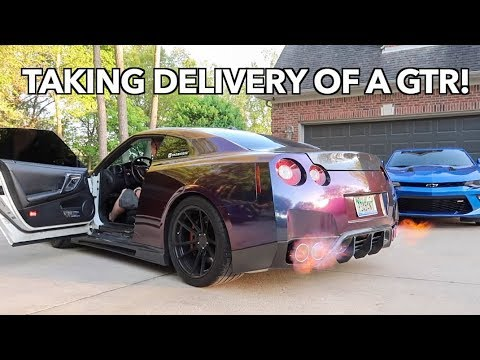 TAKING DELIVERY OF A 620WHP NISSAN GTR! *Shoots Flames*