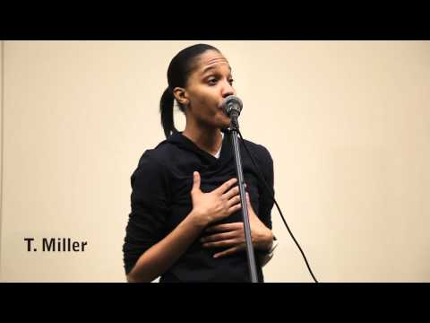 T. Miller - Poetry Slam Winner