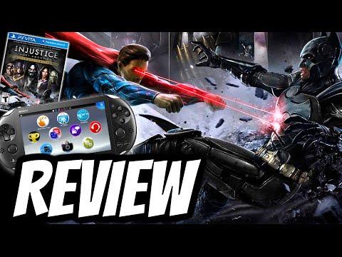 Injustice Gods Among Us Ultimate Edition Playstation Vita REVIEW (PS VITA) HD GAMEPLAY