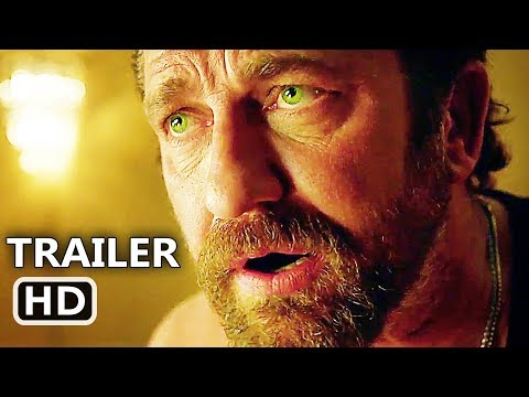 DEN OF THIEVES Official Trailer (2018) Gerard Butler, Action Movie HD 2018