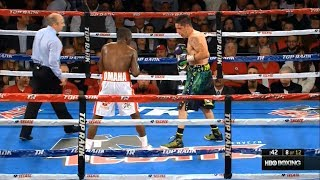 The best moments Terence Crawford vs. John Molina / Теренс Кроуфорд vs. Джон Молина лучшие моменты