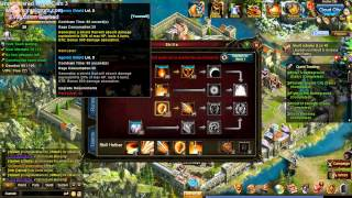 Tutorial de Skills guerreiro lvl 39 Legend online/ Maryland wartune tutorial skills #02