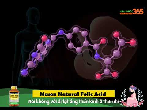 Mason Natural Folic Acid