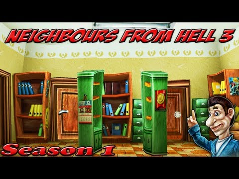 Neighbours From Hell 3 - Season 1 [100% walkthrough]