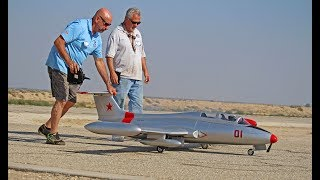 Large Scale RC Aero L-29 Delfin - Best in the West Jet Rally 2017