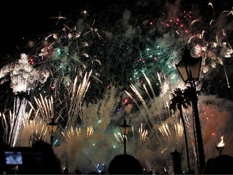 New Years Eve Disney Epcot Fireworks Celebration