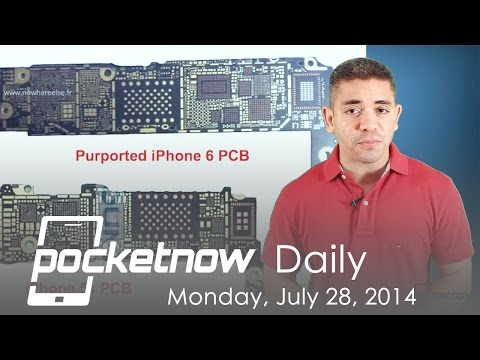 Iphone 6 Hardware Upgrades, Moto google Nexus Phablet, Htc One W8 & More - Pocketnow Daily video