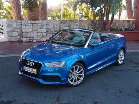 Audi a3 2014 Blue 2014 Audi a3 Cabriolet Review