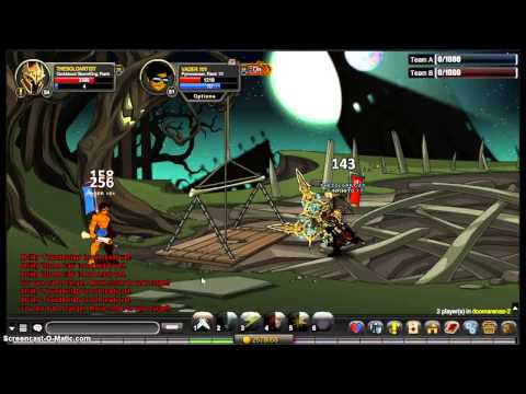 =AQW= DarkBlood StormKing Vs Pyromancer