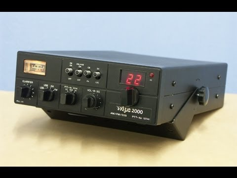 WIPE 2000 SWISS CB Radio by CYBERNET