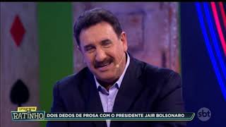 Entrevista Jair Bolsonaro no Ratinho 04/06/2019 na Íntegra Sbt