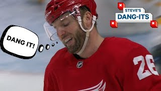 NHL Worst Plays of The Year - Day 3: Detroit Red Wings Edition | Steve's Dang Its