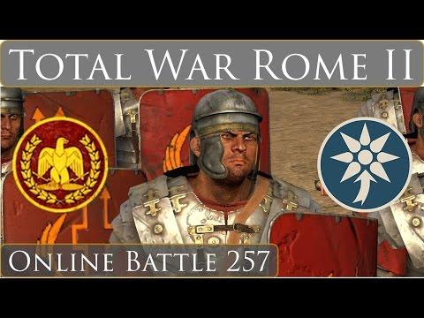 Total War Rome 2 Online Battle Video 257 Rome vs Pontus