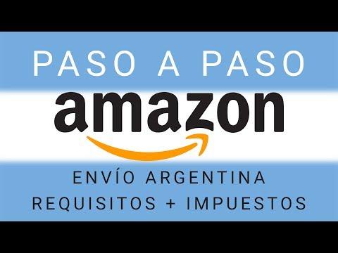 Comprar por Amazon paso a paso (Argentina, a domicilio)