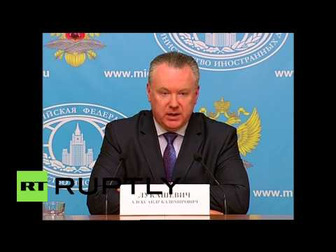 Russia: 'The EU shouldn't try to revise the outcome of WWII' - Lukashevich