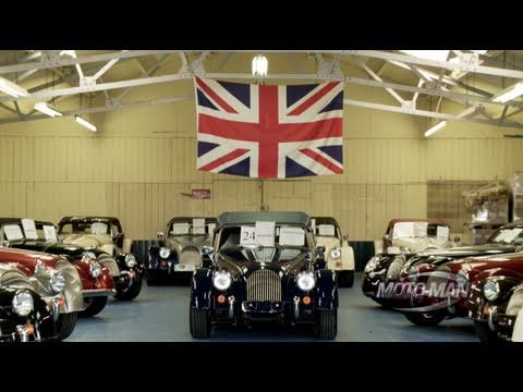 Morgan Motor Company - MotoMan Builds a Morgan -- Part One