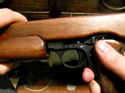 Unique Modele L .22lr pistol/carbine conversion