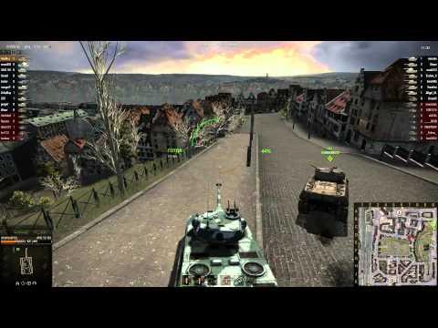 World of Tanks - Химмельсдорф - AMX-50 100 HD 1080p
