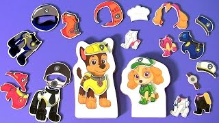PAW PATROL Magnetic Wooden Dress Up Pups Toys for Kids by Funtoys Collector