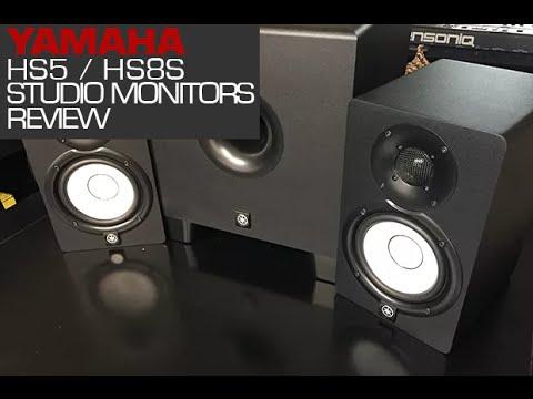 Yamaha HS5 / HS8S Powered Studio Monitors Review BBoyTechReport.com -